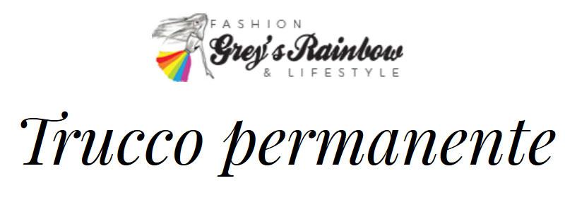 trucco permanente sonia di meo greys rainbow rassegna stampa